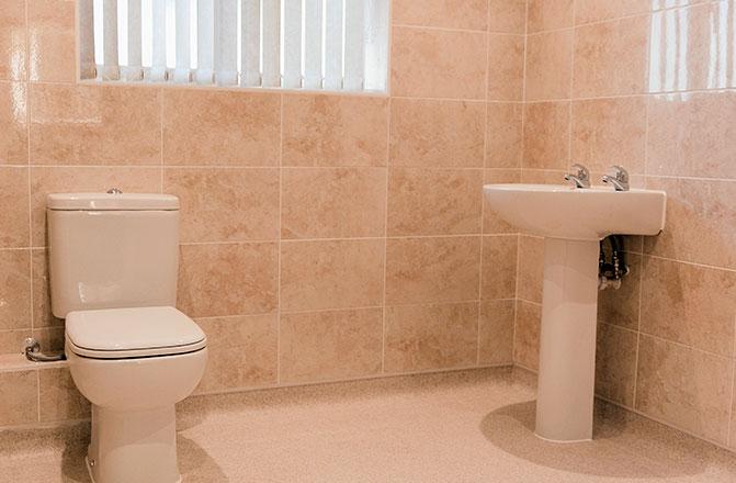 foundry house bathroom